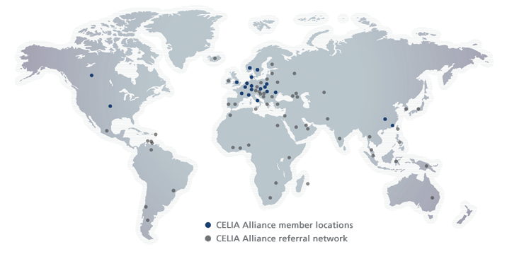 CELIA Alliance Locations